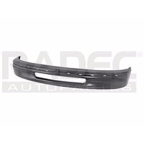 Defensa Delantera Ford F-150 1997-1998 Negra C/barreno