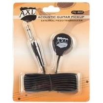 Pickup Axl Guitarra Acústica Del Transductor Con Cuarto Jack