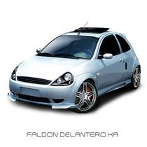 Faldon Delantero C/splitters Rally Ka 2002 A 2007 Af01
