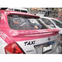 Tiida Taxi Te Falta Ponerle Este Aleron Modelo Japones Stop