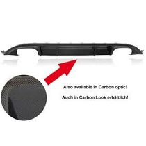 Difusor Trasero Rieger Para Vw Golf Y Gti 7 Doble Escape