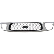 Fd F-150 97-98 Parrilla Painted Silver-gray Insert