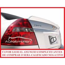 Spoiler Aleron Flush Para Chevrolet Aveo