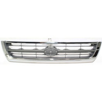 Ty 4runner 96-98 Parrilla Chrome/argent, 6 Cyl
