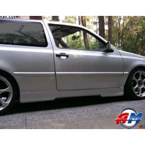 Estribos Golf/ Jetta A3 1993-1998 Liso