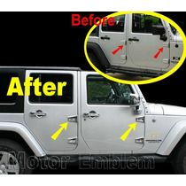 Jeep Wrangler Cromo De Bisagra Puertas Cofre 28 Piezas Sp0