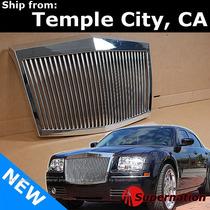 Parrilla Cromada 300 Y 300c Estilo Rolls Royce Importada