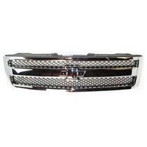 Parrilla Cromada Chevrolet Silverado 2007 - 2013 Nueva!!!