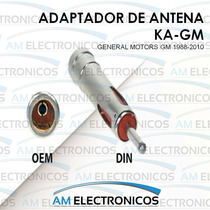 Adaptador De Antena Autoestereo General Motors