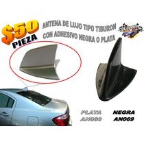 Antena De Lujo Tipo Aleta Tiburon Negra O Plata An069 An080