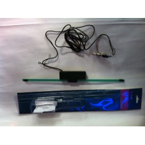 Antena Electronica Receptora Am Fm Para Estereo 12 V Con Led