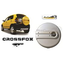 Cubierta Para Llanta Refaccion Vw Crossfox Plata Reflex