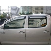Cubre Manijas Cromadas Toyota Hilux 2006 Al 2014, De Lujo