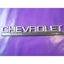 Emblema Chevrolet Suburban Camioneta