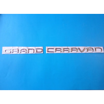 Emblema Grand Caravan Chrysler Camioneta