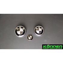 Emblemas Bmw Cofre Cajuela Volante Fibra De Carbono Serie 3