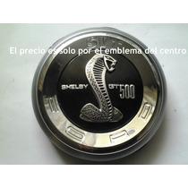 Shelby Cobra Emblema De Cajuela Metalico 2010 En Adelante