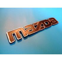 Emblema Mazda Universal Carro Y Camioneta