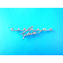 Emblema Volkswagen Karmann Ghia Para Tablero