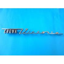 Emblema Ford Crown Victoria Fairlane Para Laterales