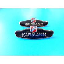Emblemas Volkswagen Karmann Ghia Para Laterales
