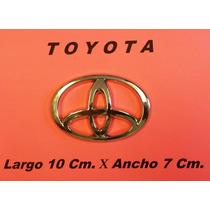Emblema Orig.toyota 10 Cm Lar.x 7 Cm.ancho Buenos Mdn