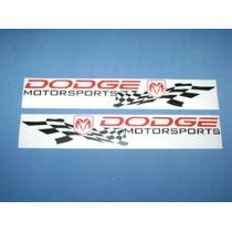 Calcomania Dodge Motor Sport Nueva