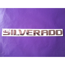 Emblema Silverado Chevrolet Camioneta