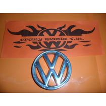 Emblema De Cofre Vw Sedan Metalico Cromado