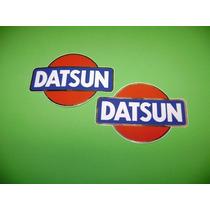 Jgo De 2 Stickers Calcomanias Datsun Tuning!!!