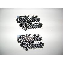 Emblema De Malibu Classic Original