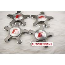 Centros De Rin Tapones Audi Sline 4 Piezas Incluye