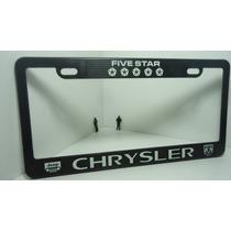Chrysler Porta Placas Par Ganalo,..!!!