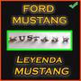 Mustang 1969 - 1970 Juego De Letras Separadas Mustang