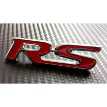 Emblema Rs Para Parrilla Toyota Nuevo Sonic Rs