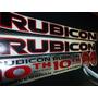 Kit De Stickers Jeep 10th Anniversary Rubicon Calcomanias