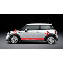 Sticker Vinil Tuning Franja Lateral England Flag Mini Cooper