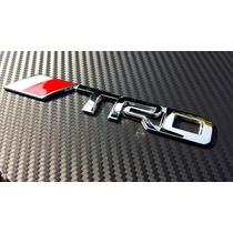Emblema Trd Toyota Metálico Tacoma Corola Autoadherible