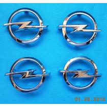 Emblema P/ Centro Volante Opel 52 Mm Largo X 40 Mm Diam.hm4