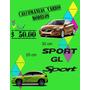 Calcomania Sport Para Auto