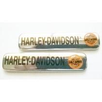 Emblema Lateral Harley Par Plastico