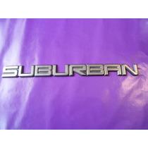 Emblema Suburban Chevrolet Camioneta