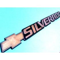 Emblema Chevrolet Silverado Parte Trasera