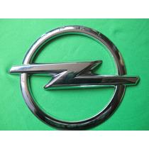 Emblema Marca Opel Plasticromado Diametro 11.2 Cm.nuevo Hm4