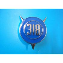 Emblema Plymouth Barracuda 318 Para Laterales