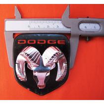 Emblema Dodge Original 59 Mm L X 67 Mm Ancho Bueno Pm0