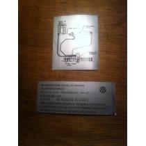 Calcas Tapa De Motor Especificación De Emisiones E Inyección