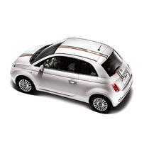 Franjas Sticker Vinil Fiat 500 Italian Euro Rally Transvers