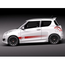 Franjas Sticker Vinil Suzuki Swift X-ite
