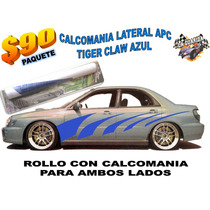 Calcamonia Lateral Apc Tiger Glaw Azul Remate
